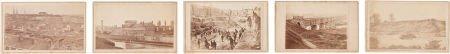 52017: Rare C. 1865-68 Series Of Five Carte-De-Visite V