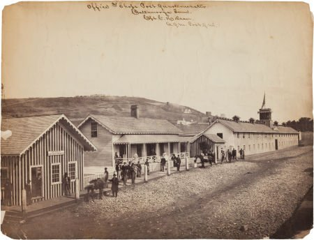 """52023: """"Office And Shops Post Quartermaster / Chattanoo"""