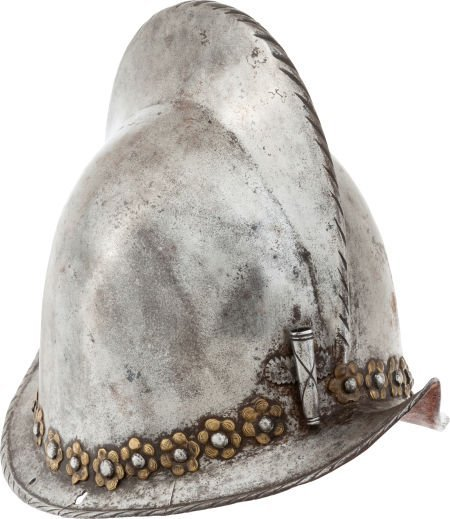 32003: Superb 17th Century European Morion Helmet.