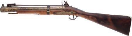 32018: English-Style Brass-Barreled Flintlock Blunderbu - 2
