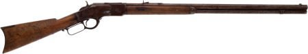 32275: Winchester Third Model 1873 Lever Action Rifle B