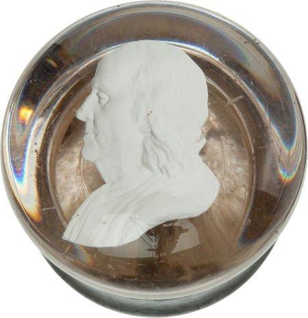 38004: Benjamin Franklin: Sulphide Doorknob.