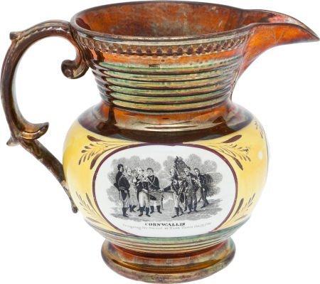 38016: Circa 1824 Marquis de Lafayette Copper Luster Pi