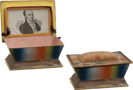 38017: John Quincy Adams: Thread Box.