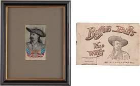 38539 Buffalo Bill Wild West Two British Souvenirs