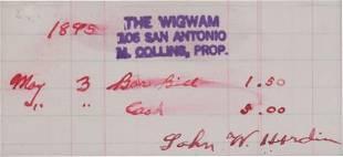 38597: The Old West: Notorious Killer John Wesley Hardi