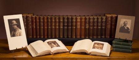 38694: The Edward Harriman Twenty-Volume Set from Edwar