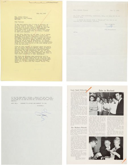 46007: A Marilyn Monroe-Received Group of Professional