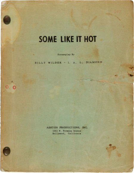 """46009: A Joan Shawlee Personally-Owned Script from """"Som"""