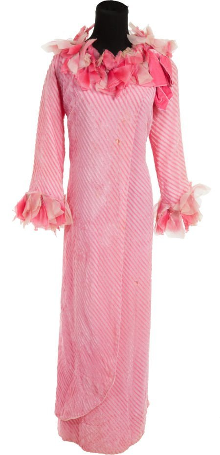 """46011: A Rita Hayworth Gown from """"The Naked Zoo."""""""