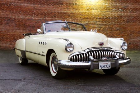 46114: The Iconic 1949 Buick Roadmaster Convertible Car