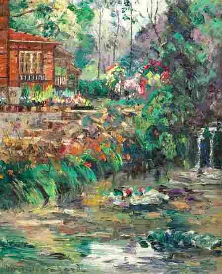 86308: WILLIAM SLOCUM DAVENPORT (American, 1868-1938) R