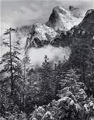 89522: ROBERT OSBORN (American, b. 1938) Winter Storm,