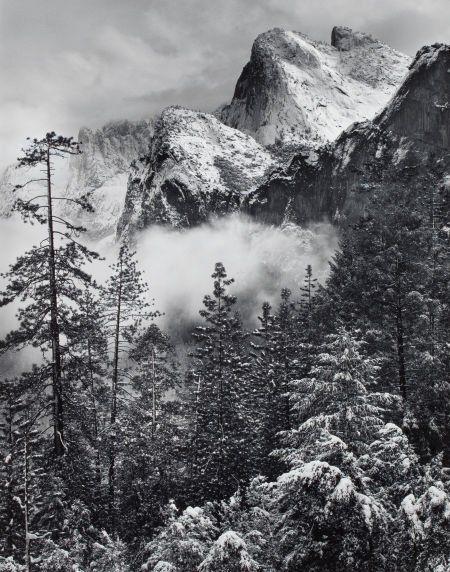 ROBERT OSBORN (American, b. 1938) Winter Storm,