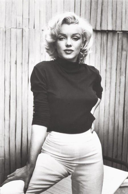74007: ALFRED EISENSTAEDT (American, 1898-1995) Marilyn