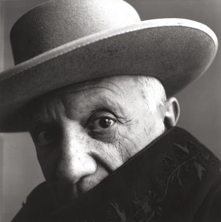 74032: IRVING PENN (American, 1917-2009) Picasso, Canne