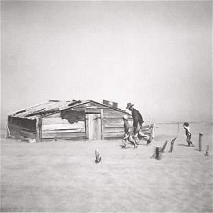 74057: ARTHUR ROTHSTEIN (American, 1915-1985) Dust Stor