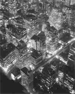 74064: BERENICE ABBOTT (American, 1898-1991) New York a