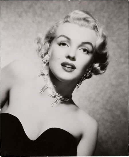 46005: A Marilyn Monroe Rare Headshot, Circa 1951.