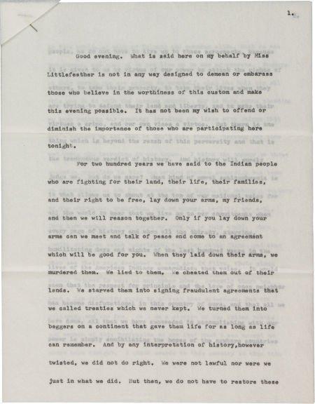 46018: A Marlon Brando Academy Award Rejection Letter,