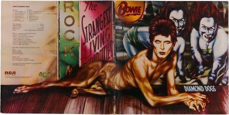 46327: David Bowie Diamond Dogs Rare Censored Cover Ver