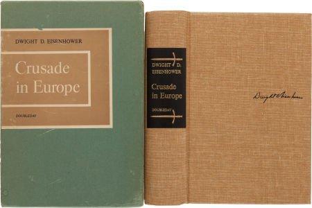 36007: Dwight D. Eisenhower. Crusade in Europe. New Yor