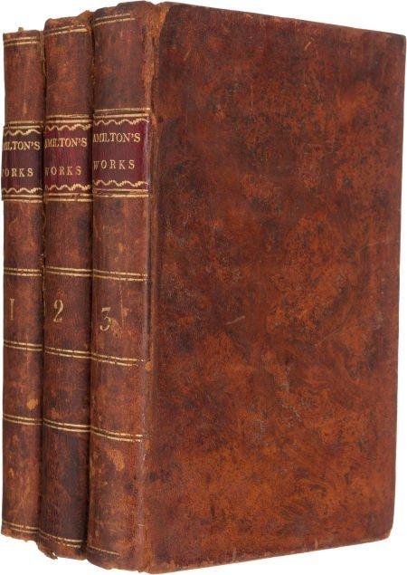 36012: Alexander Hamilton. The Works of Alexander Hamil
