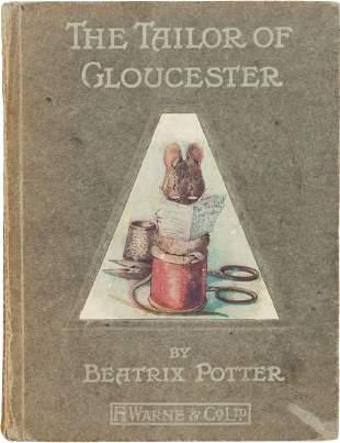 36194: Beatrix Potter. The Tailor of Gloucester. London