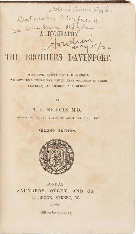 36015: [Harry Houdini and Sir Arthur Conan Doyle, assoc