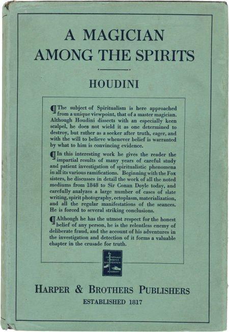 36016: [Harry] Houdini. A Magician Among the Spirits. H