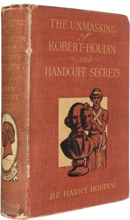 36018: Harry Houdini. The Unmasking of Robert-Houdin. T