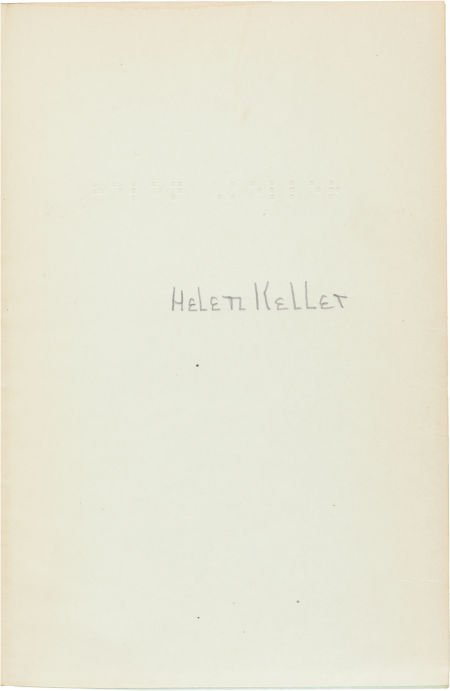 36021: Helen Keller. Midstream. Garden City, New York: