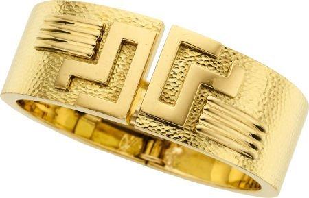 58007: Gold Bangle Bracelet, David Webb