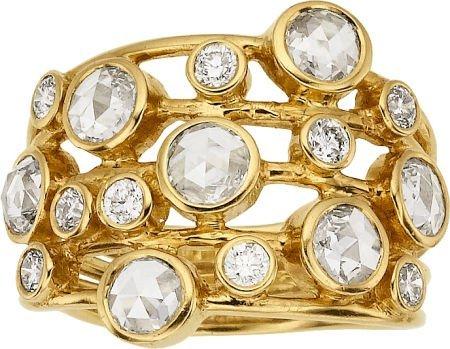58016: Diamond, Gold Ring, Ippolita