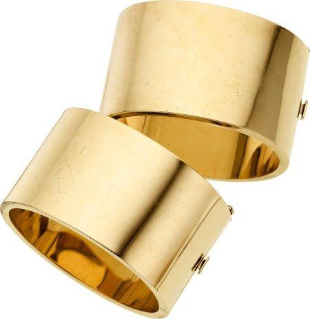 58018: Gold Bracelets