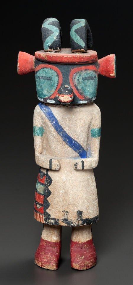 54001: A HOPI COTTONWOOD KACHINA  c. 1930