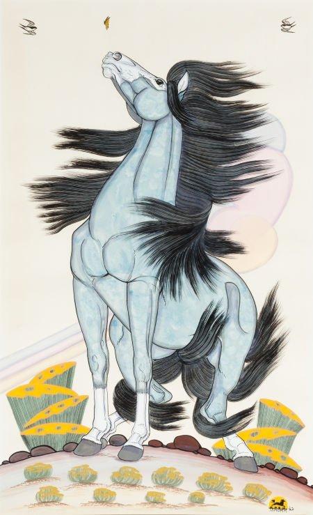54019: QUINCY TAHOMA (NAVAJO, 1920 - 1956) The King of