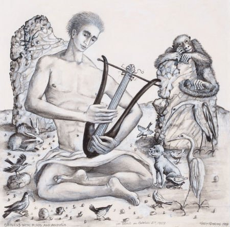 76006: KELLY FEARING (American, 1918-2011) Orpheus with