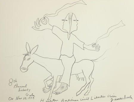 76014: JAMES SURLS (American, b. 1943) 8th Annual Liber