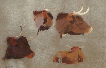 76056: FRANK REAUGH (American, 1860-1945) Untitled (Lon