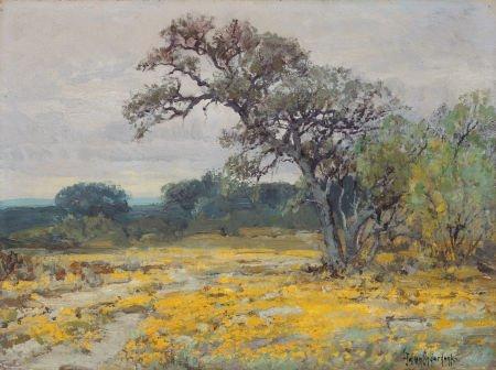 76037: JULIAN ONDERDONK (American, 1882-1922) Coreopsis