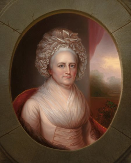 64101: REMBRANDT PEALE (American, 1778-1860) Martha Was