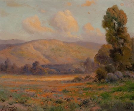 70027: ANGEL ESPOY (American, 1879-1963) California Lan