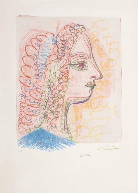 72005: PABLO PICASSO (Spanish, 1881-1973) Untitled, 197