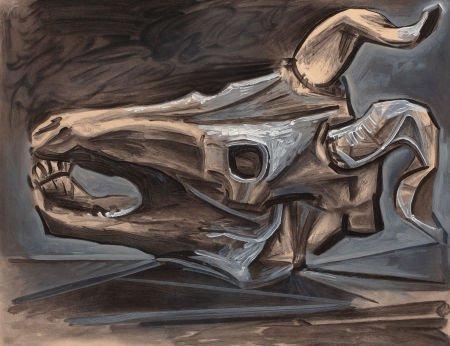 72006: PABLO PICASSO (Spanish, 1881-1973) Le Crâne de C