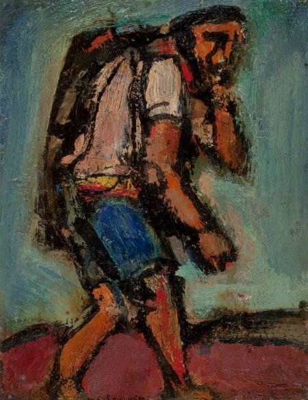 72012: GEORGES ROUAULT (French, 1871-1958) Chemineau, 1