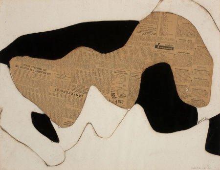 72022: CONRAD MARCA-RELLI (American, 1913-2000) Untitle