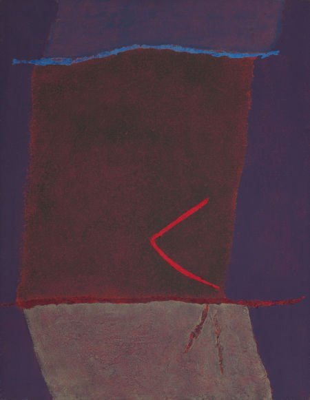 72029: THEODOROS STAMOS (American, 1922-1997) Infinity