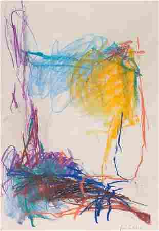 72039: JOAN MITCHELL (American, 1926-1992) Untitled Pas
