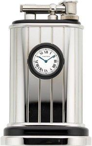 58093: Cartier Limited Edition Platinum Finish Table Li
